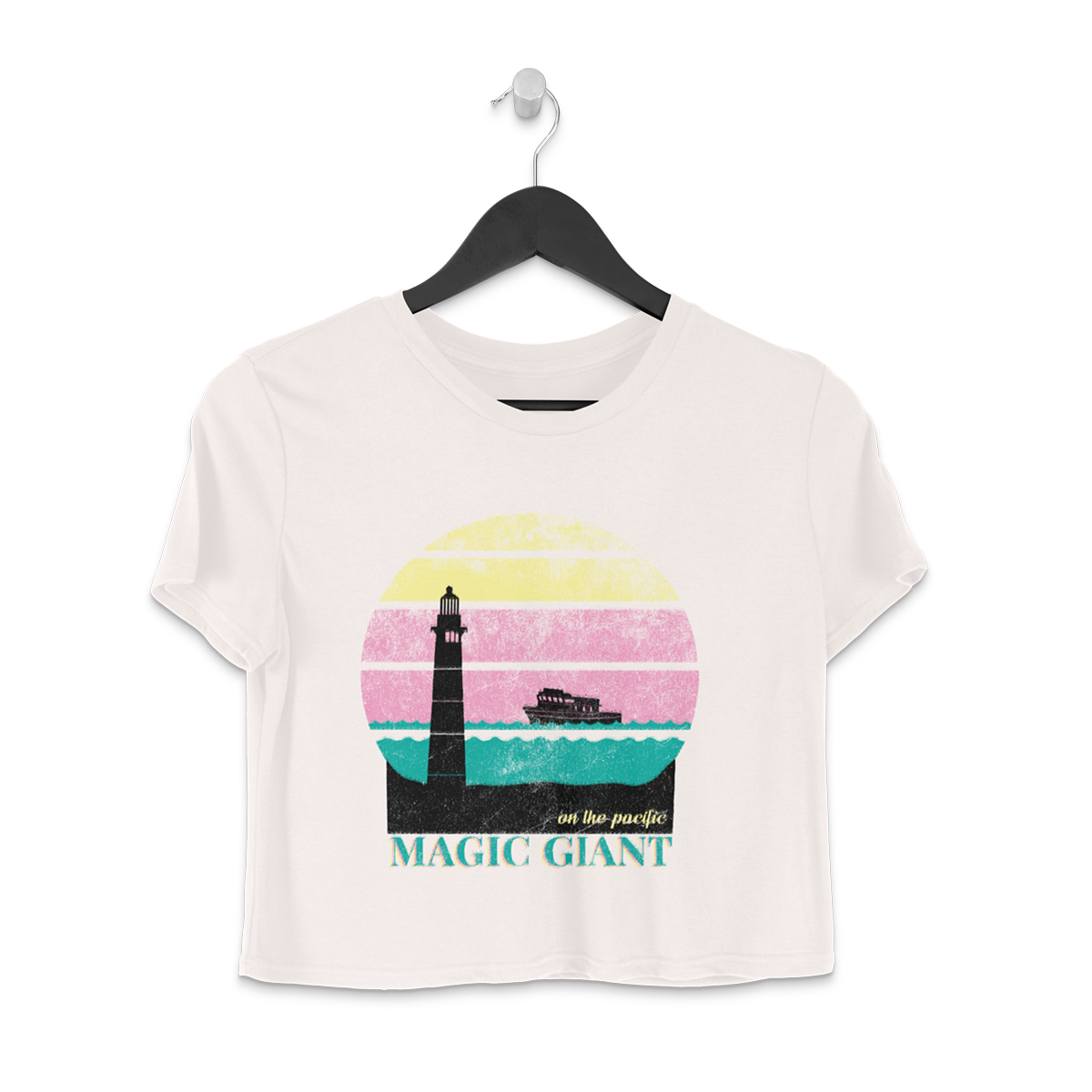 On the Pacific Crop Tee