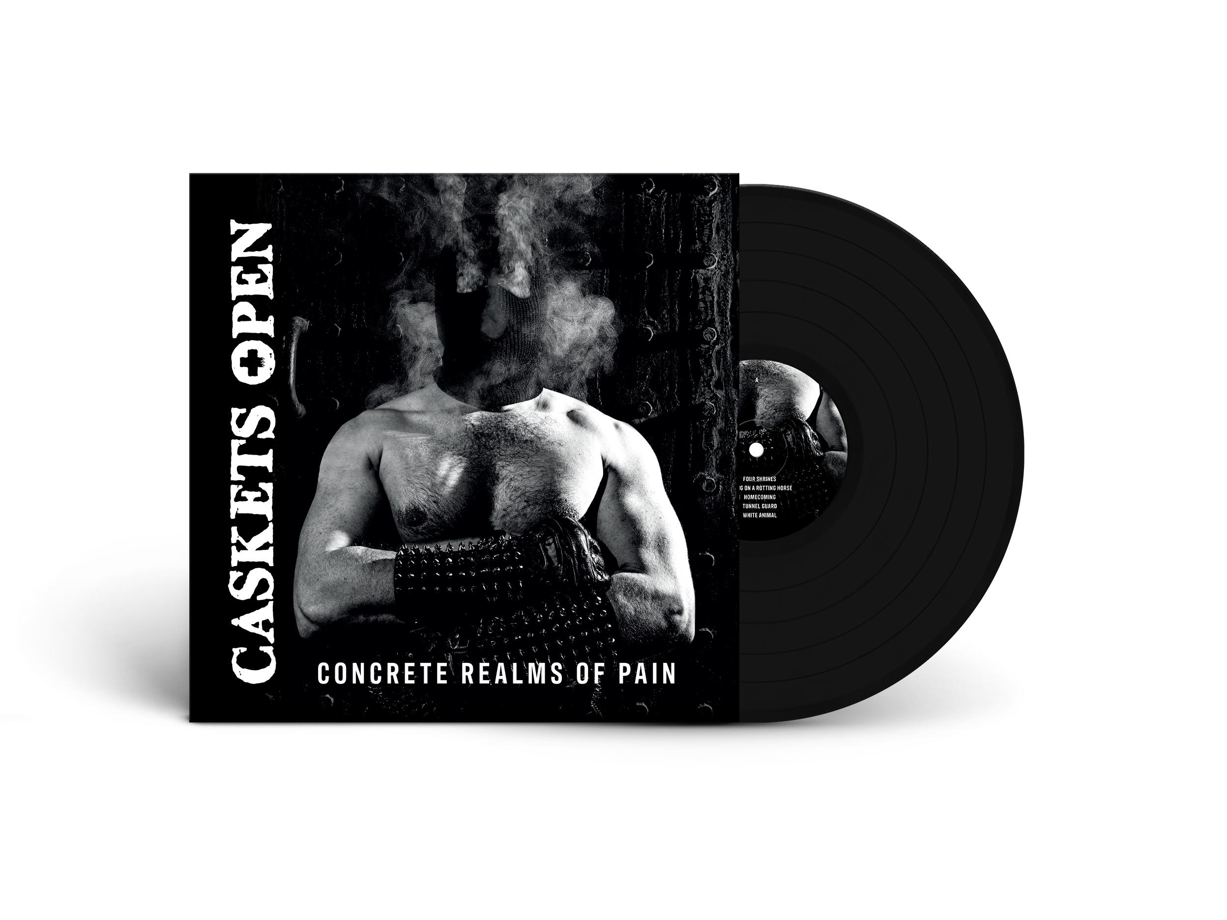 CASKETS OPEN - Concrete Realms of Pain