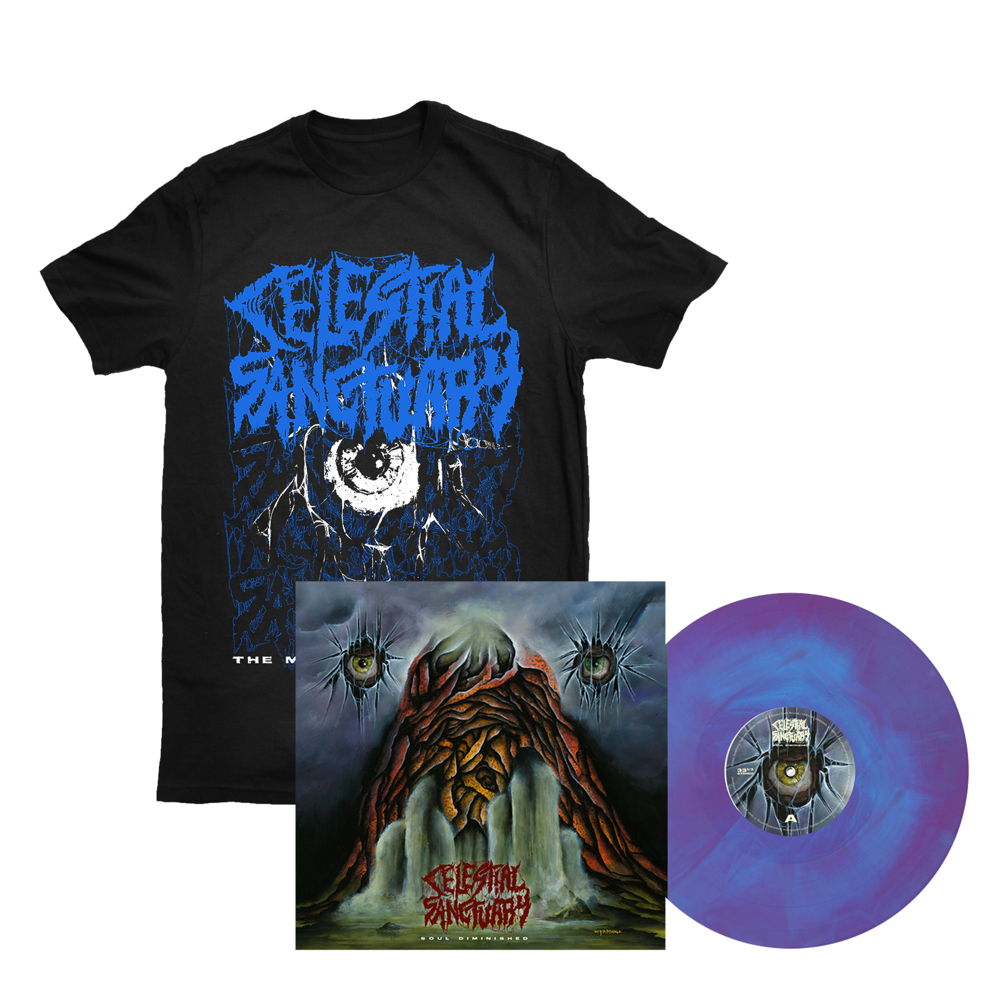 Celestial Sanctuary - Soul Diminished LP + shirt
