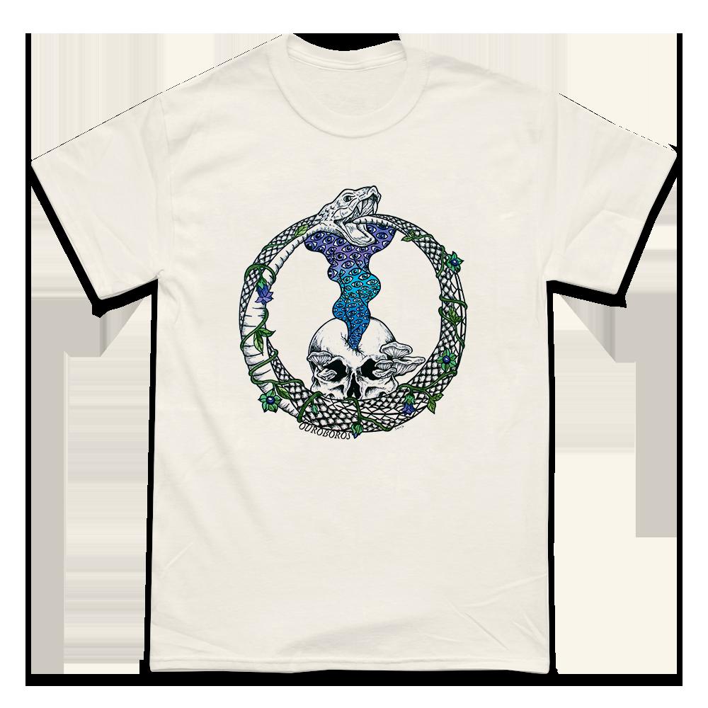 'Ouroboros' T-Shirt (Natural)
