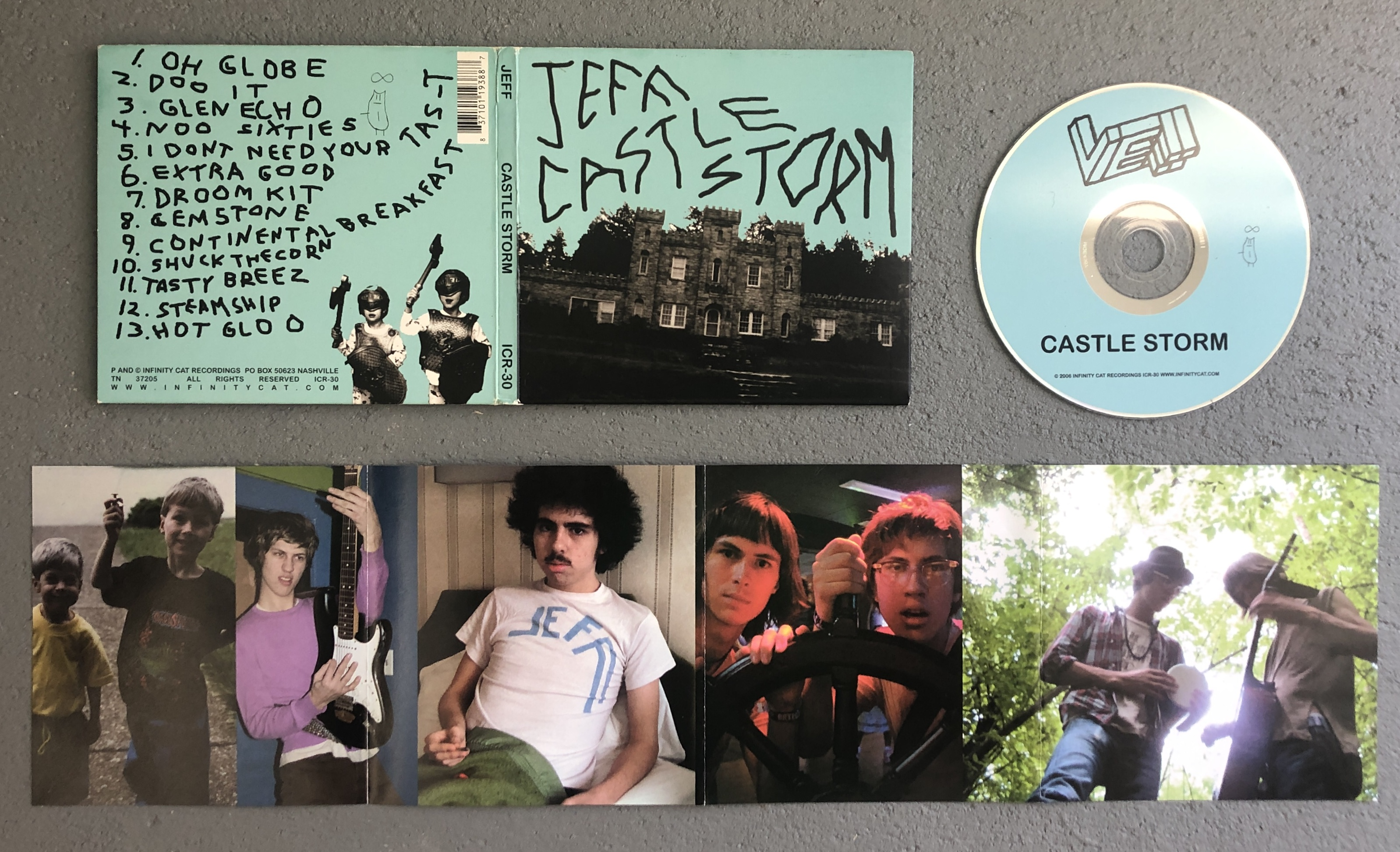 "JEFF The Brotherhood ""Castle Storm"" ON SALE $10"