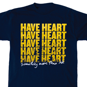 Have Heart 'Something More Than Ink' Navy T-Shirt