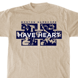 Have Heart 'Songs To Scream At The Sun' Tan T-Shirt