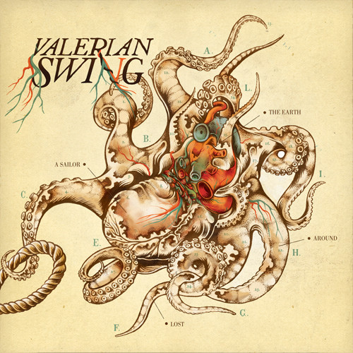 Valerian Swing – A Sailor Lost Around The Earth CD