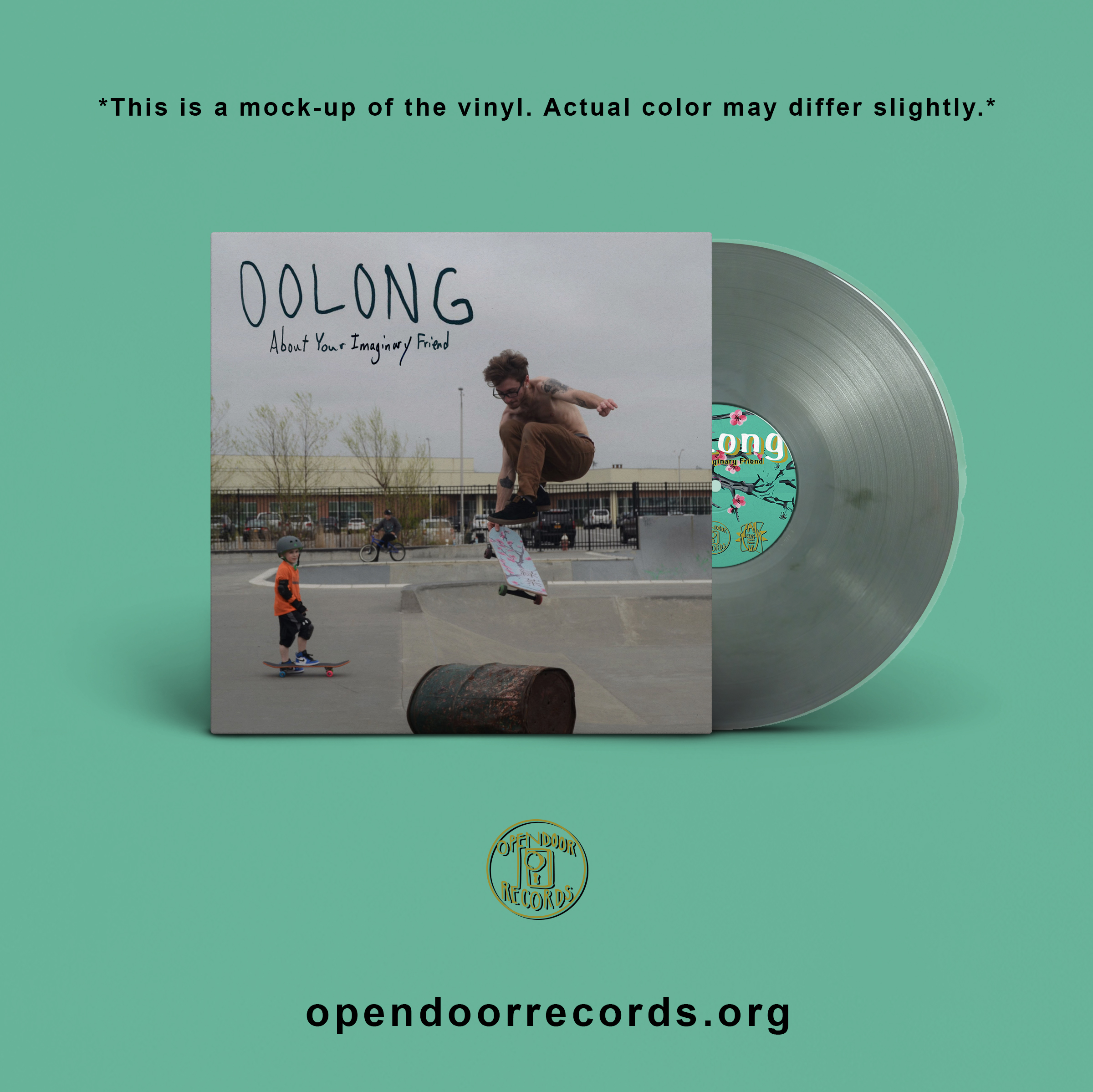 Oolong- About Your Imaginary Friend LP
