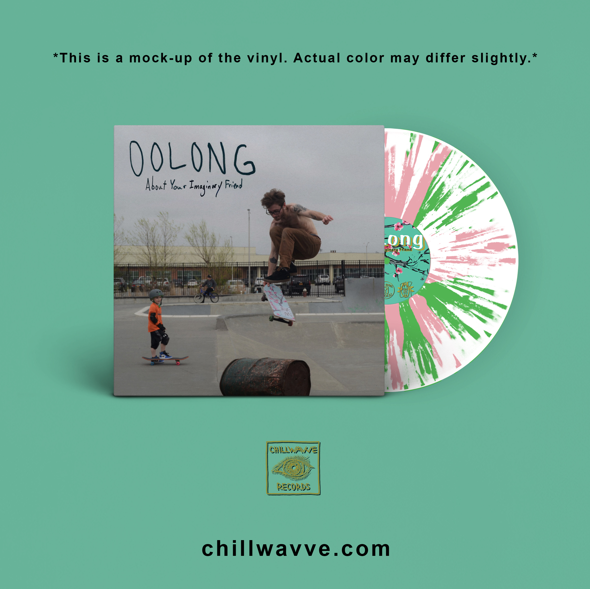 Oolong - About Your Imaginary Friend (Vinyl)
