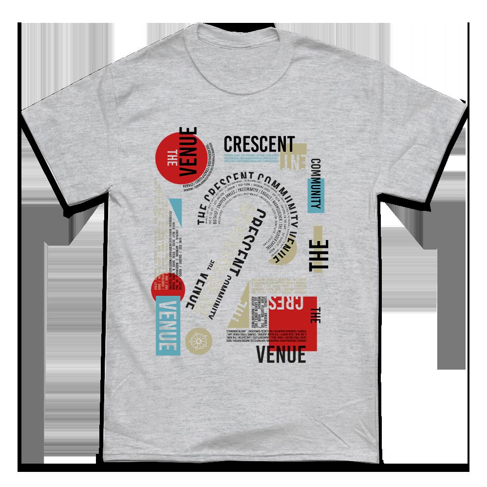 'Bands' T-Shirt (Sports Grey)