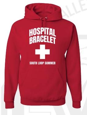 Hospital Bracelet Lifeguard Hoodie