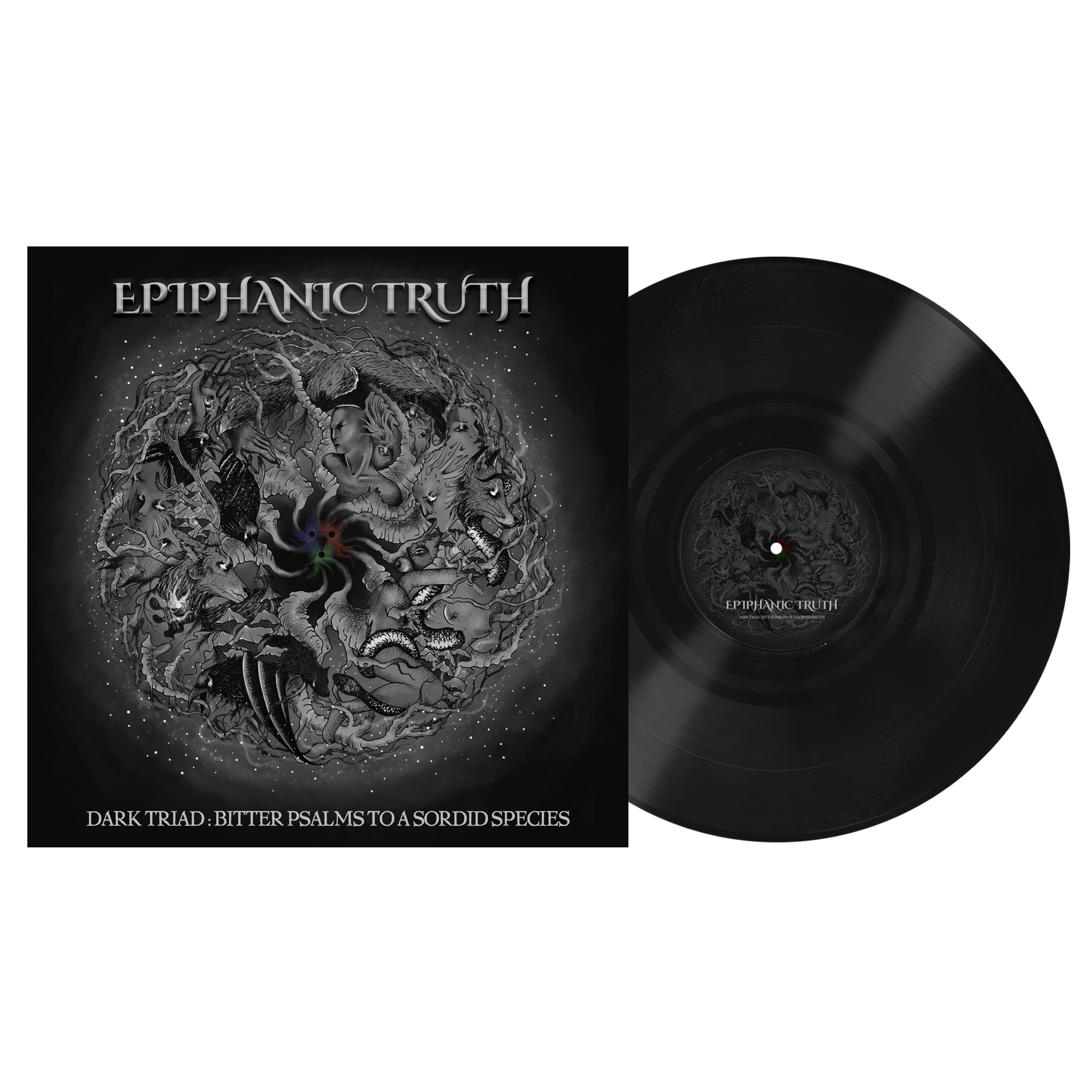 Epiphanic Truth - Dark Triad: Bitter Psalms to a Sordid Species PRE-ORDER