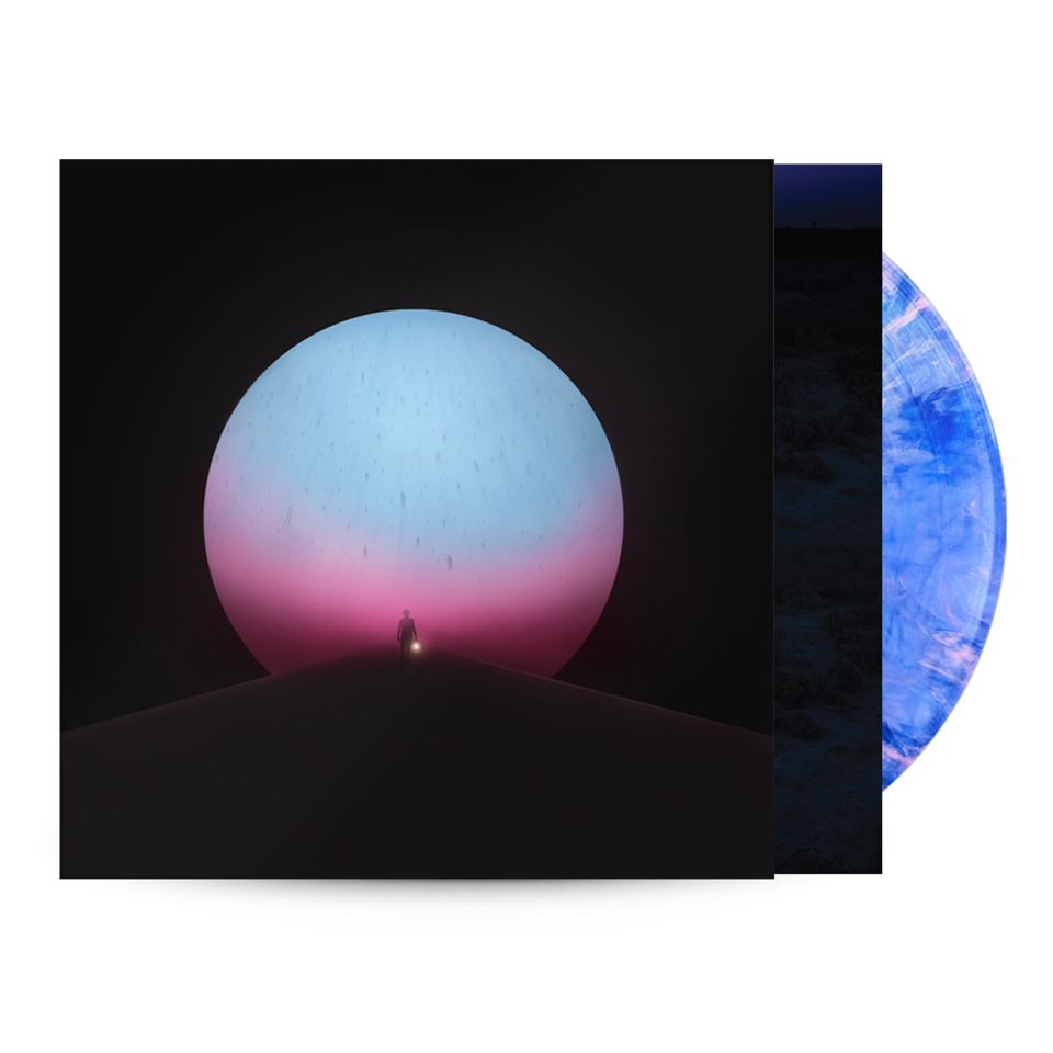The Million Masks of God Deluxe Vinyl - Clear Pink Blue