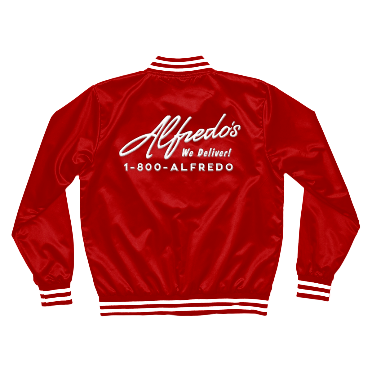 Alfredo's Delivery Jacket - Red