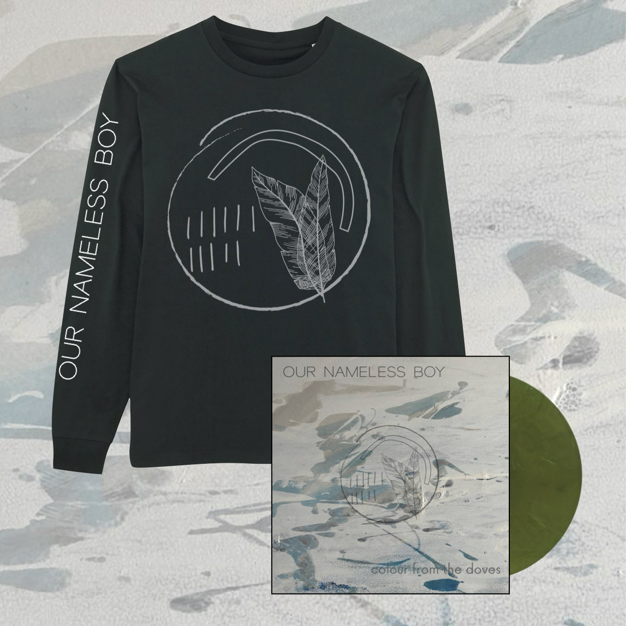 Our Nameless Boy - Colour From The Doves Longsleeve + LP