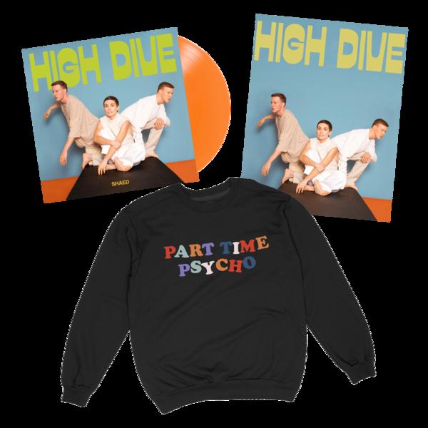 Vinyl + Part Time Psycho Sweater Bundle