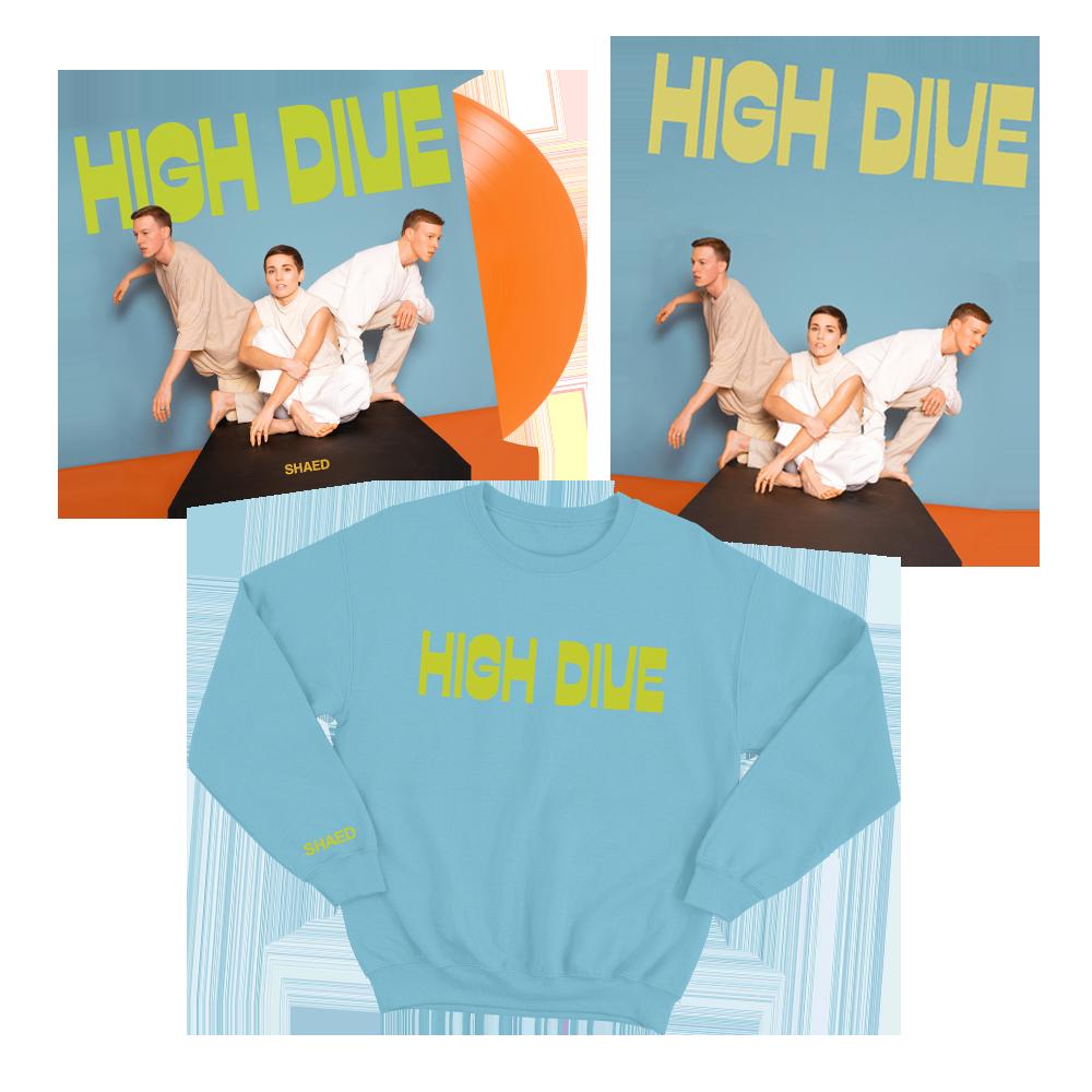 Vinyl + High Dive Sweater Bundle