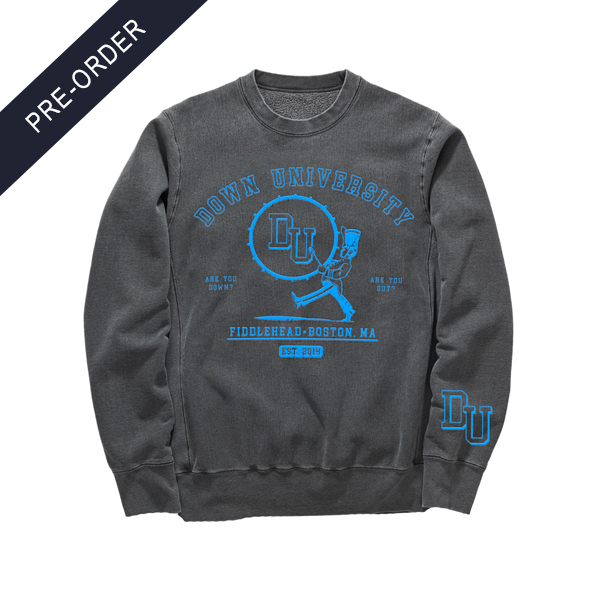 Fiddlehead - Down University Crewneck Sweatshirt