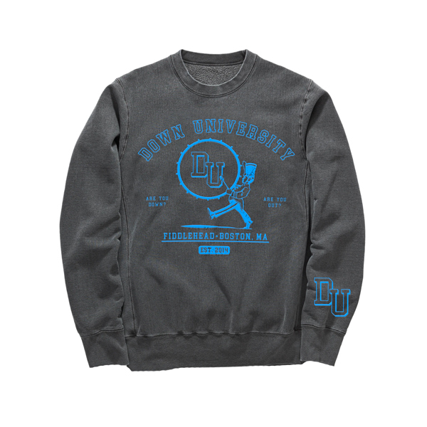 Fiddlehead – Down University Crewneck Sweatshirt
