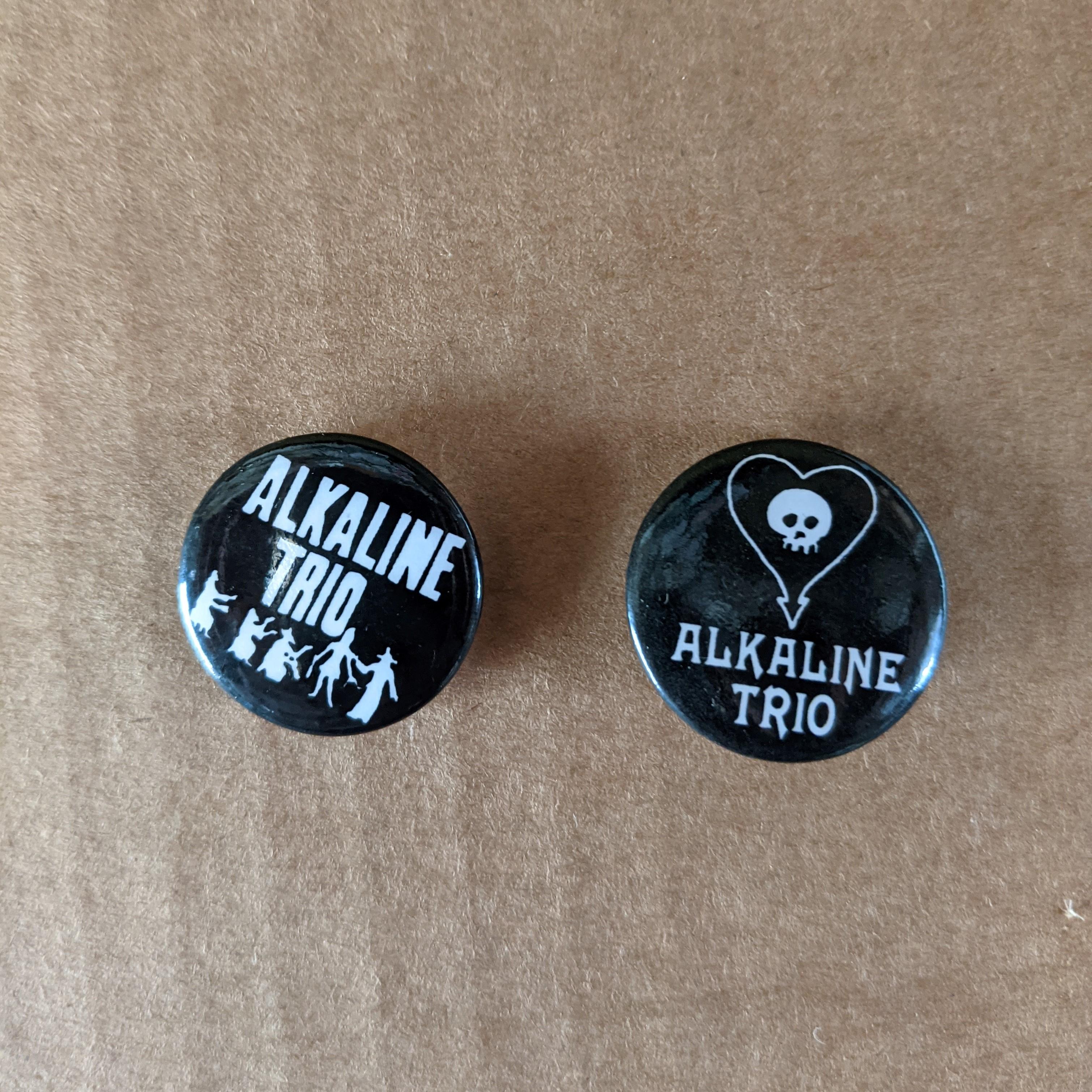 ALKALINE TRIO Buttons