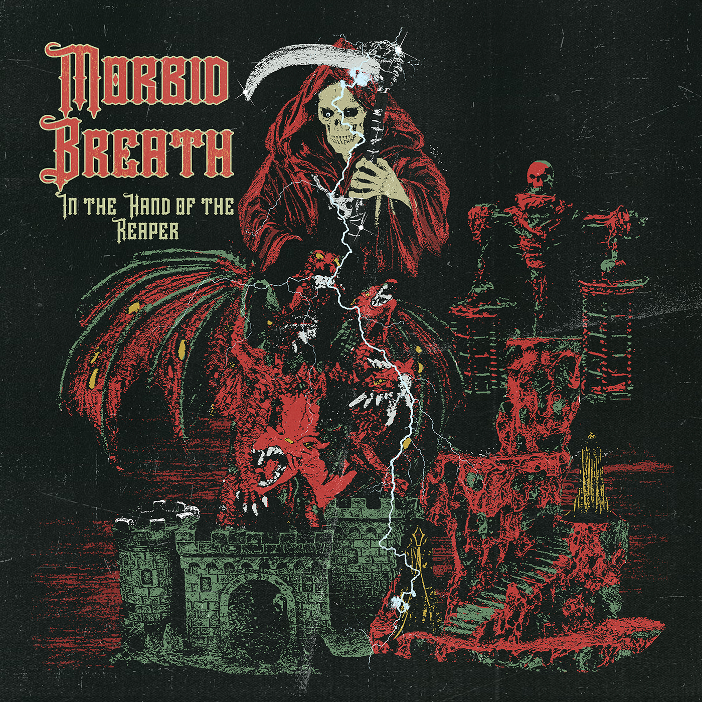 MORBID BREATH - In the Hand of the Reaper
