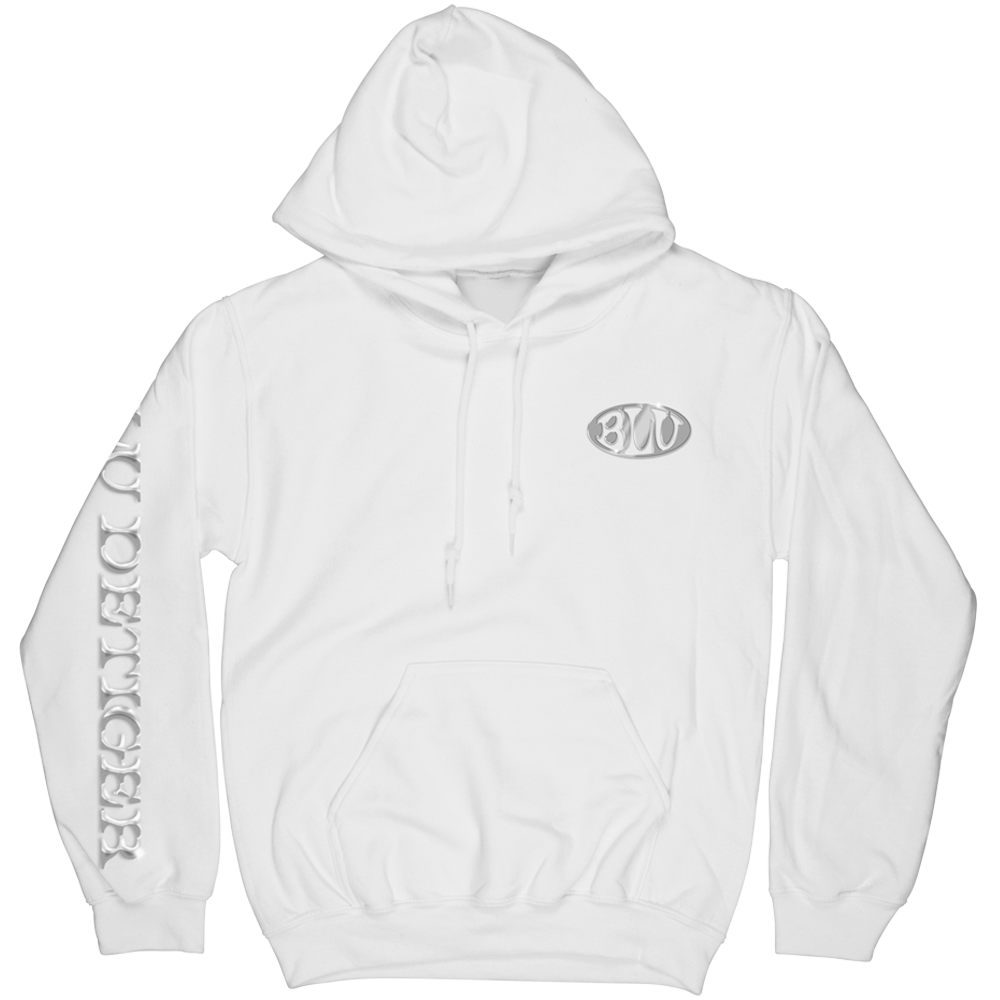How Did We Get Here Hoodie (White)