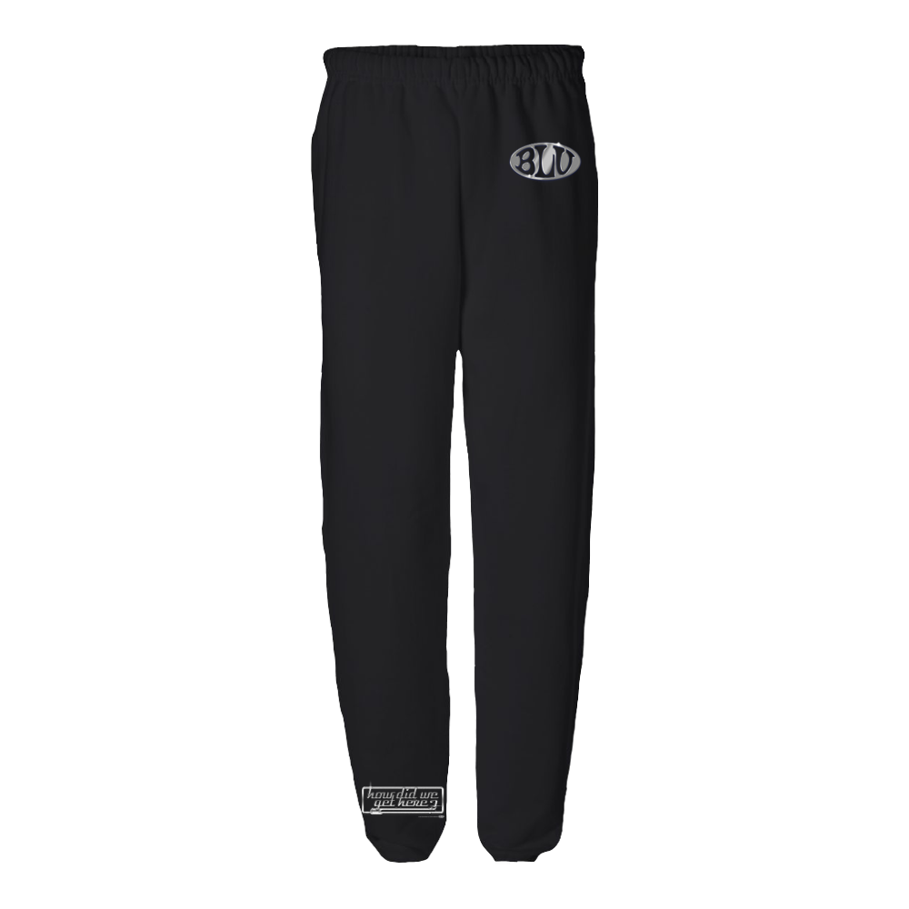 How Did We Get Here Sweatpants (Black)