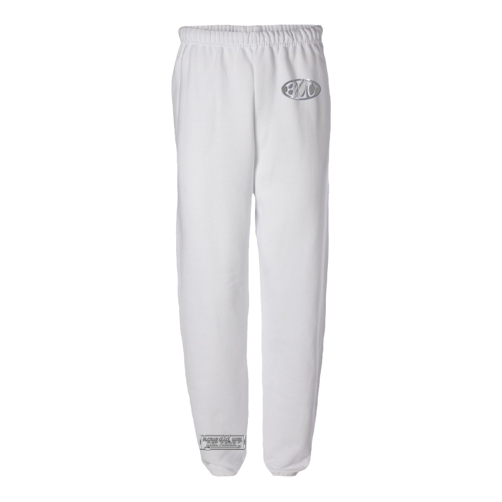 How Did We Get Here Sweatpants (White)
