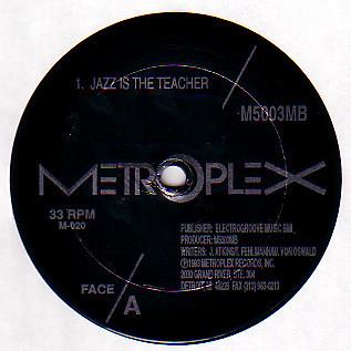 M500 & 3MB – Jazz Is The Teacher (Metroplex)