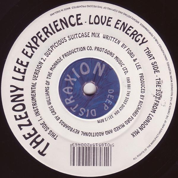 The Zeony Lee Experience – Love Energy (Deep Distraxion)
