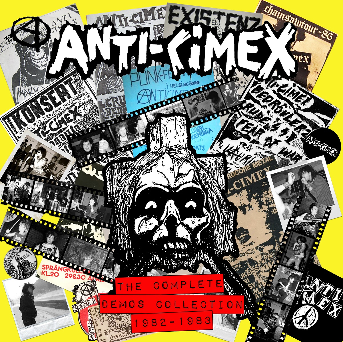 ANTI CIMEX – The Complete Demos Collection 1982-1983 LP