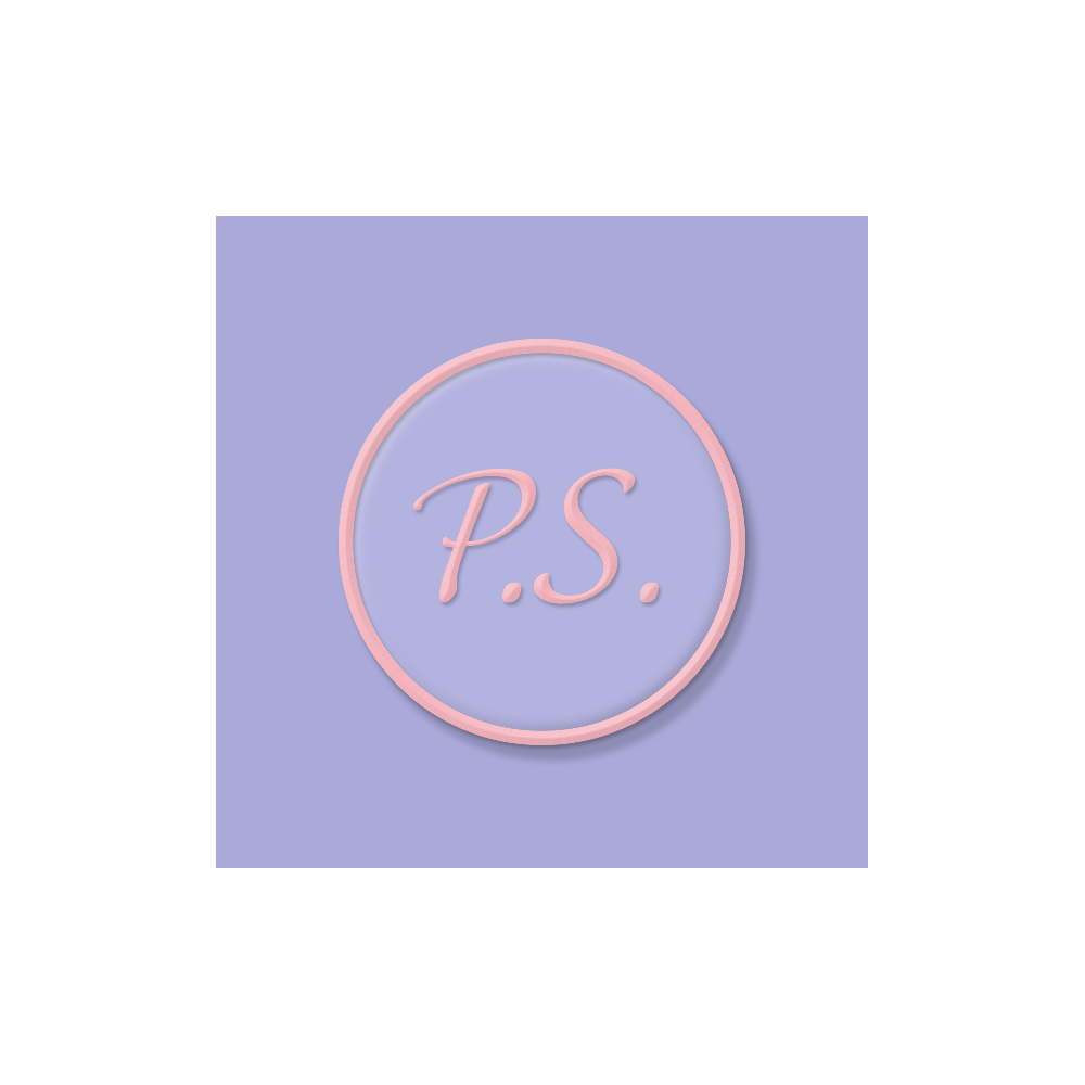P.S Enamel Pin