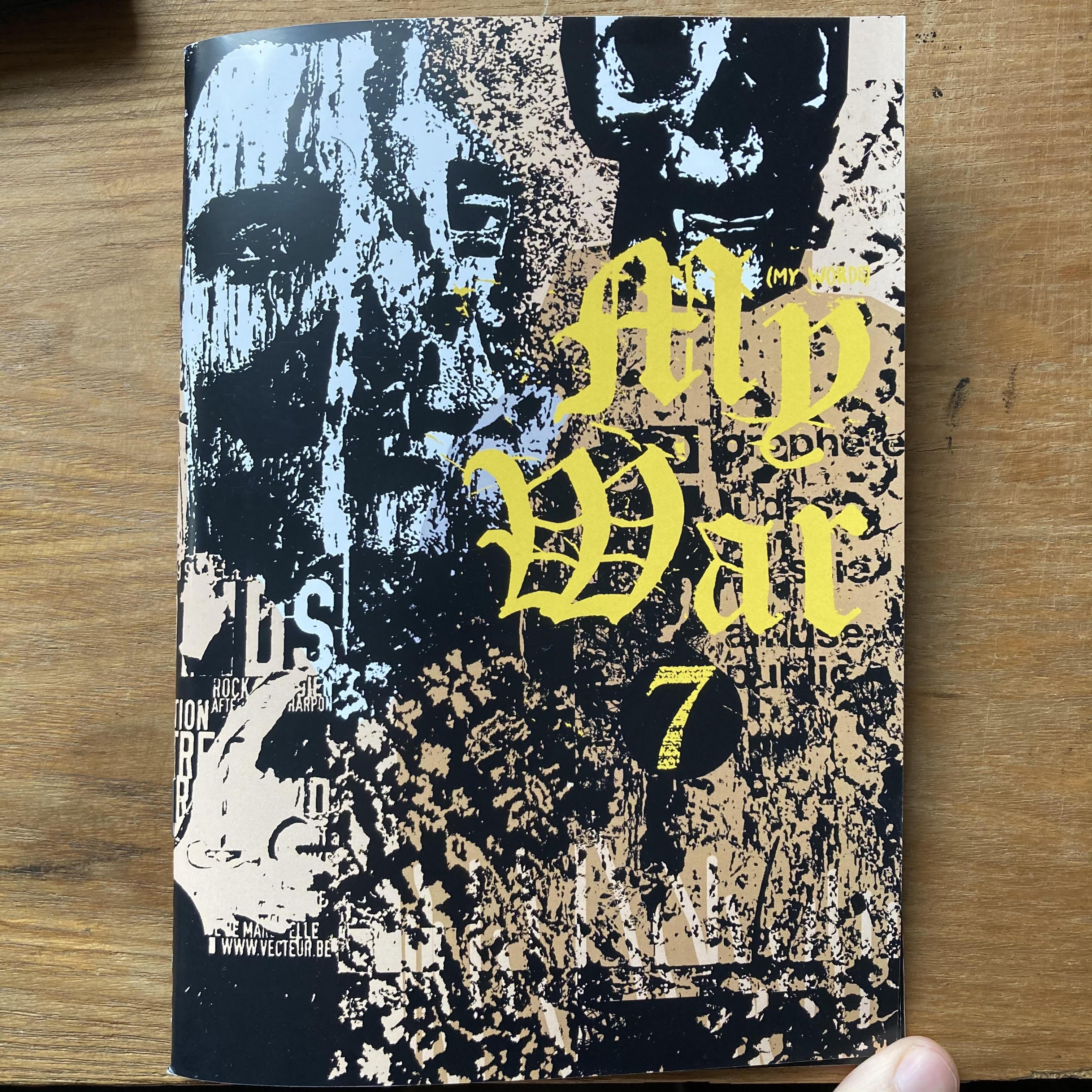 MY WAR Zine - Issue 7