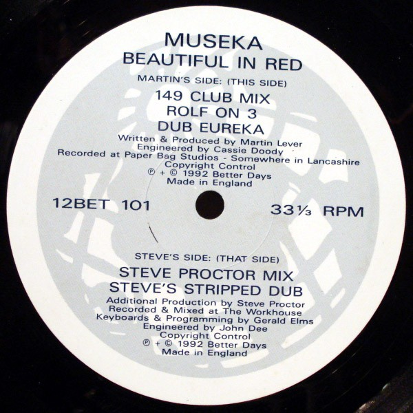 Museka – The M-Series EP (Better Days)