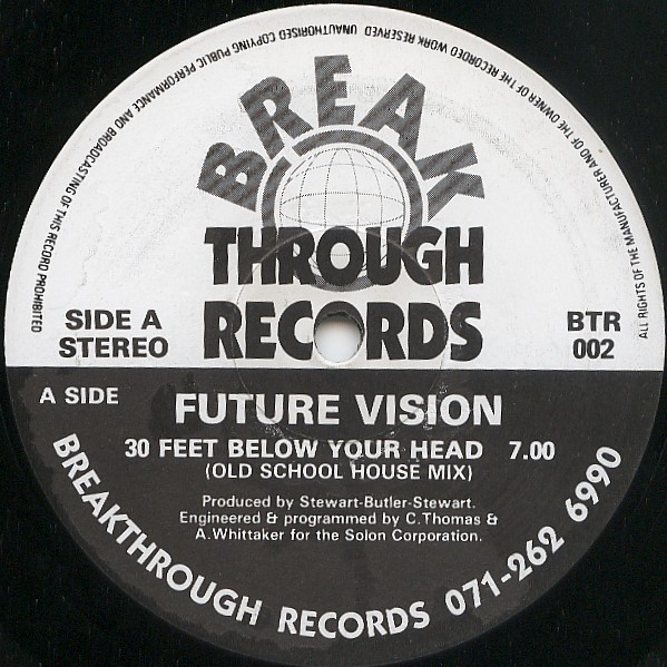 Future Vision – 30 Feet Below Your Head (Breakthrough Records)