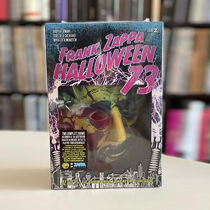 Frank Zappa Halloween Mask