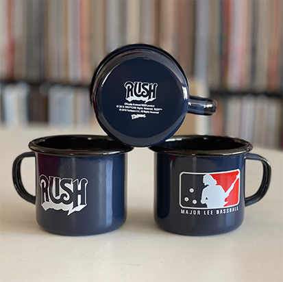 RUSH Major Lee Bassball Enamel Mug