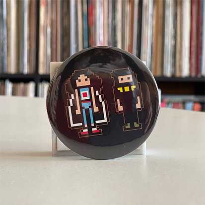 NSP Pixel art 3-Inch Button