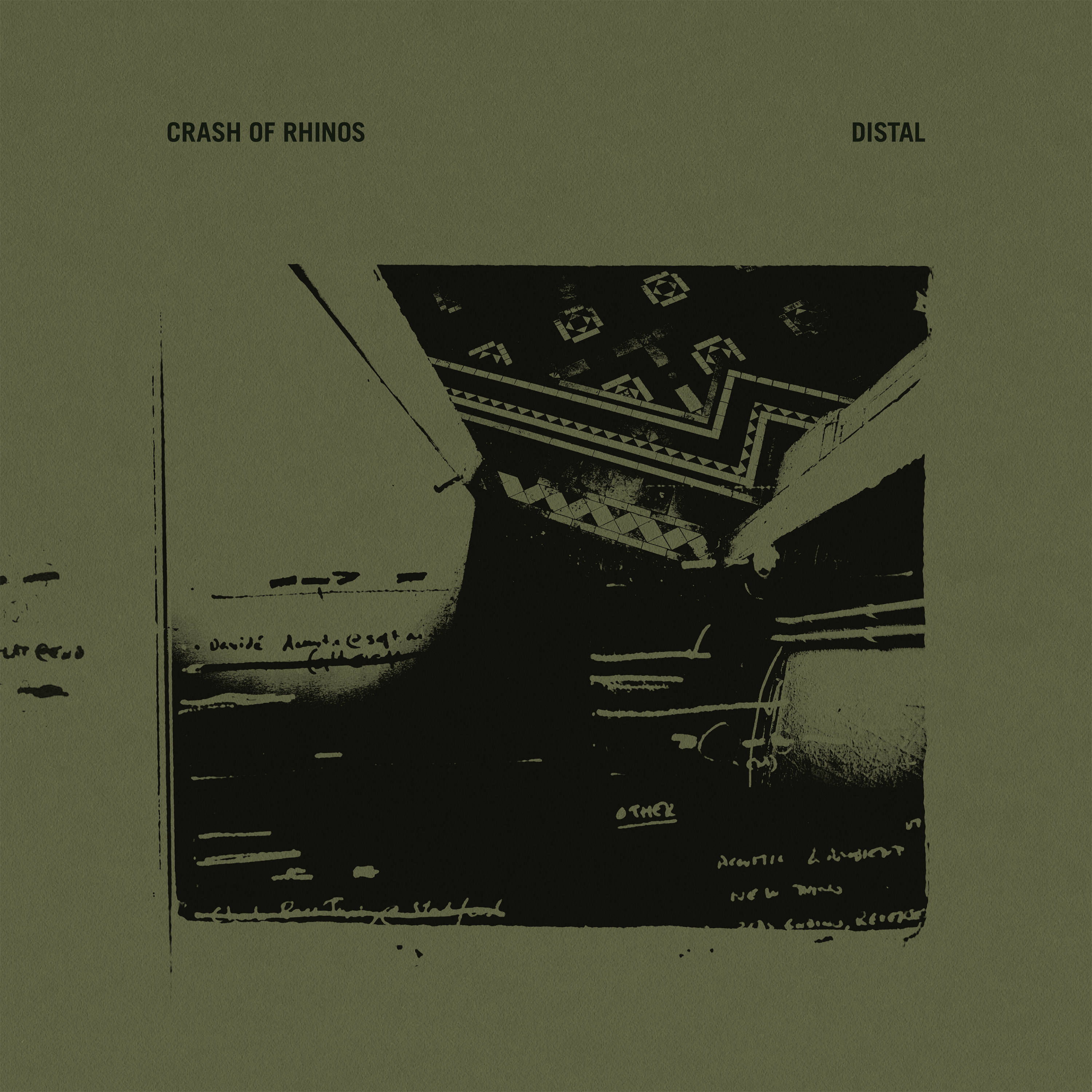 Crash of Rhinos - Distal 2xLP (repress 2021 TLLT edition)