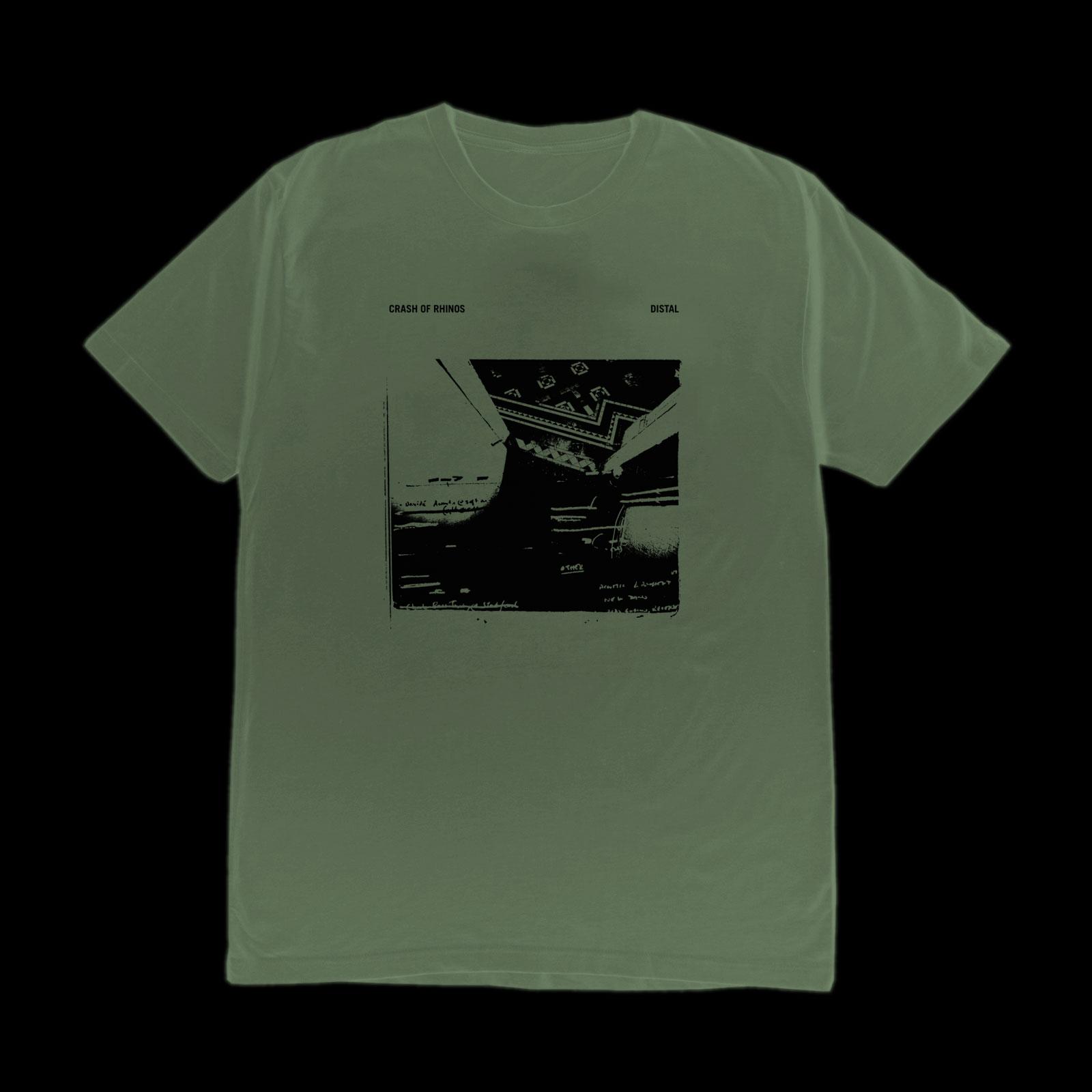 Crash of Rhinos - Distal Tshirt