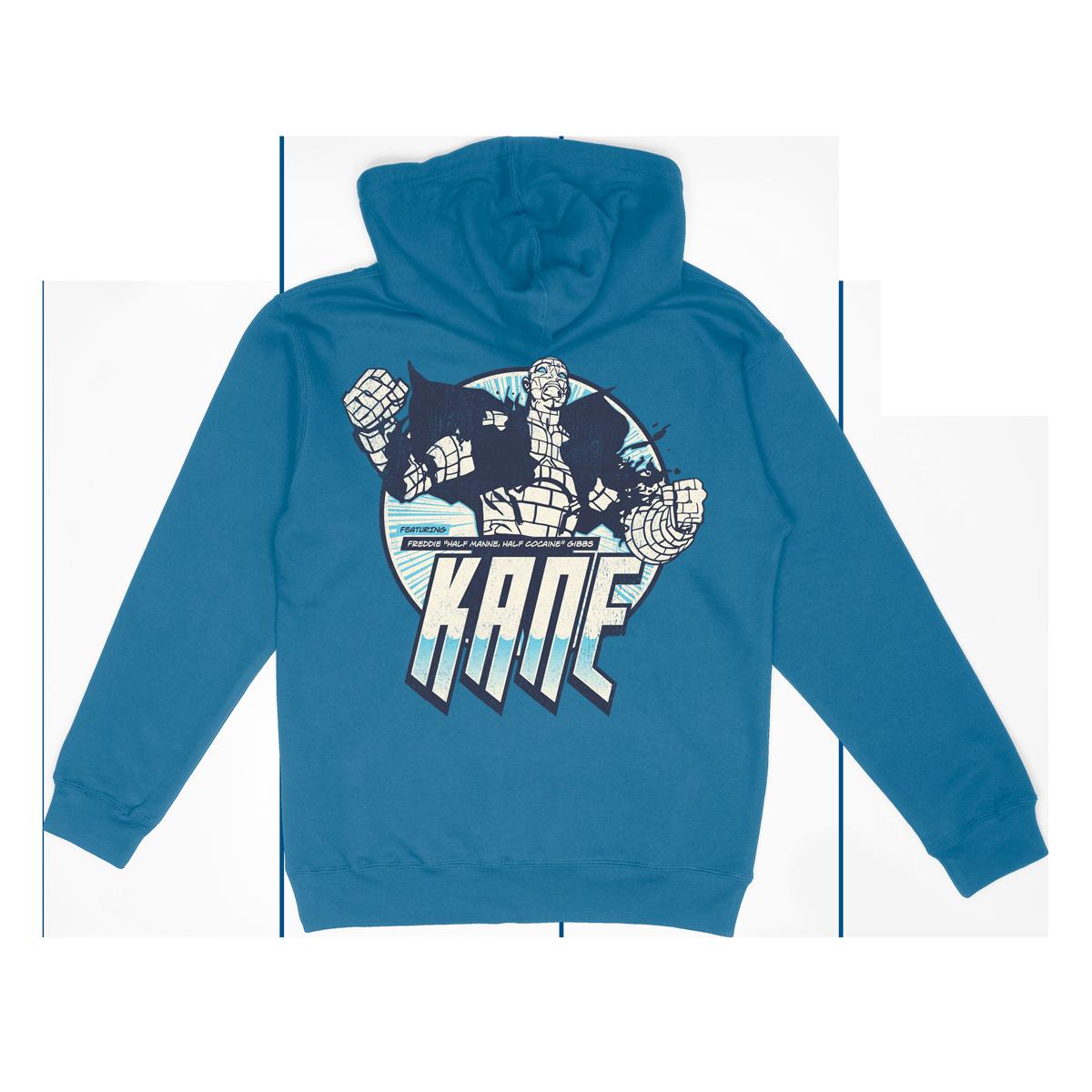 Half Manne Hoodie - Sapphire