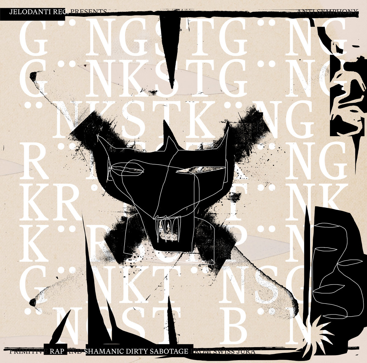 GÄNGSTGÄNG - Primitive rap and shamanic dirty sabotage from swiss Jura