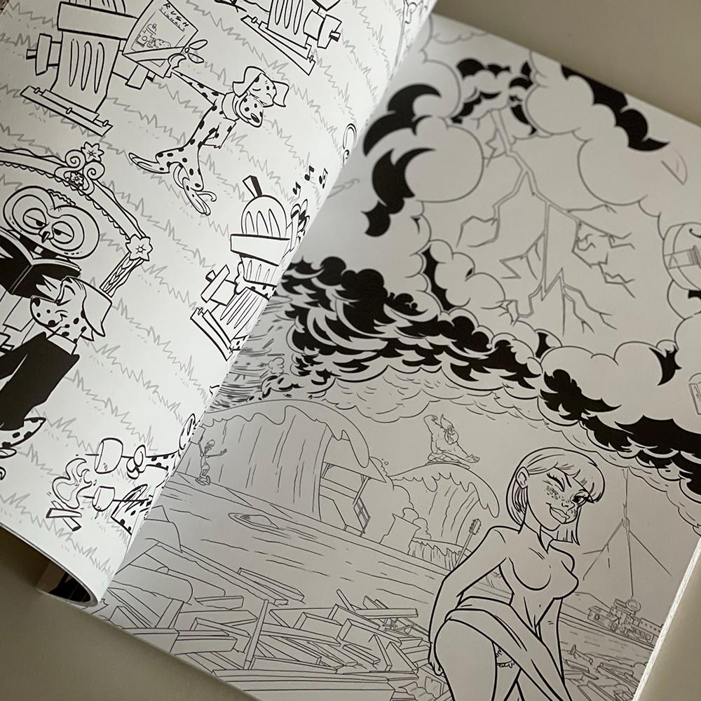Rush Coloring Book