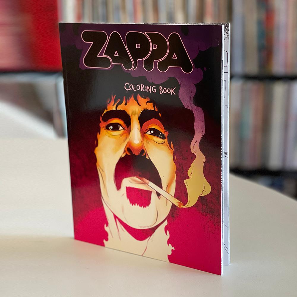 Frank Zappa Coloring Book