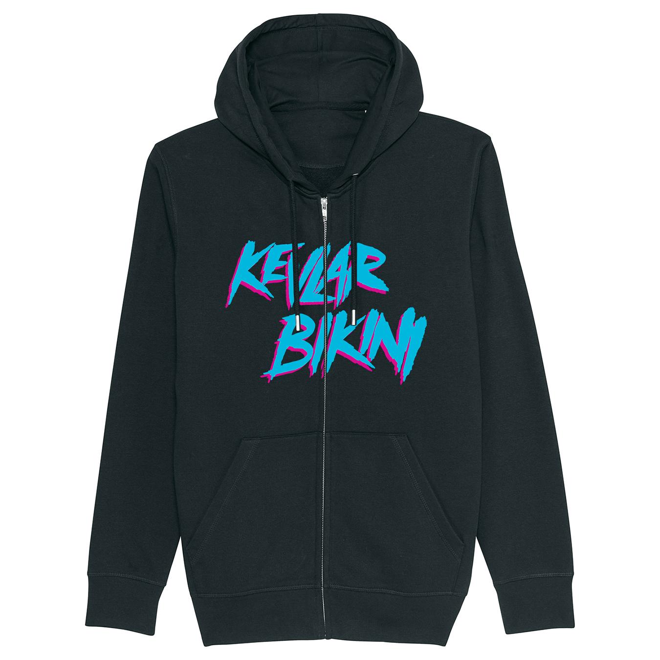 KEVLAR BIKINI - CM Logo - Zipped Hoodie