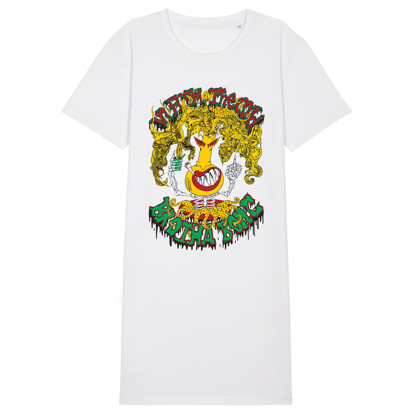 IN FROM THE COLD - Brotha Bong - T-Shirt Dress