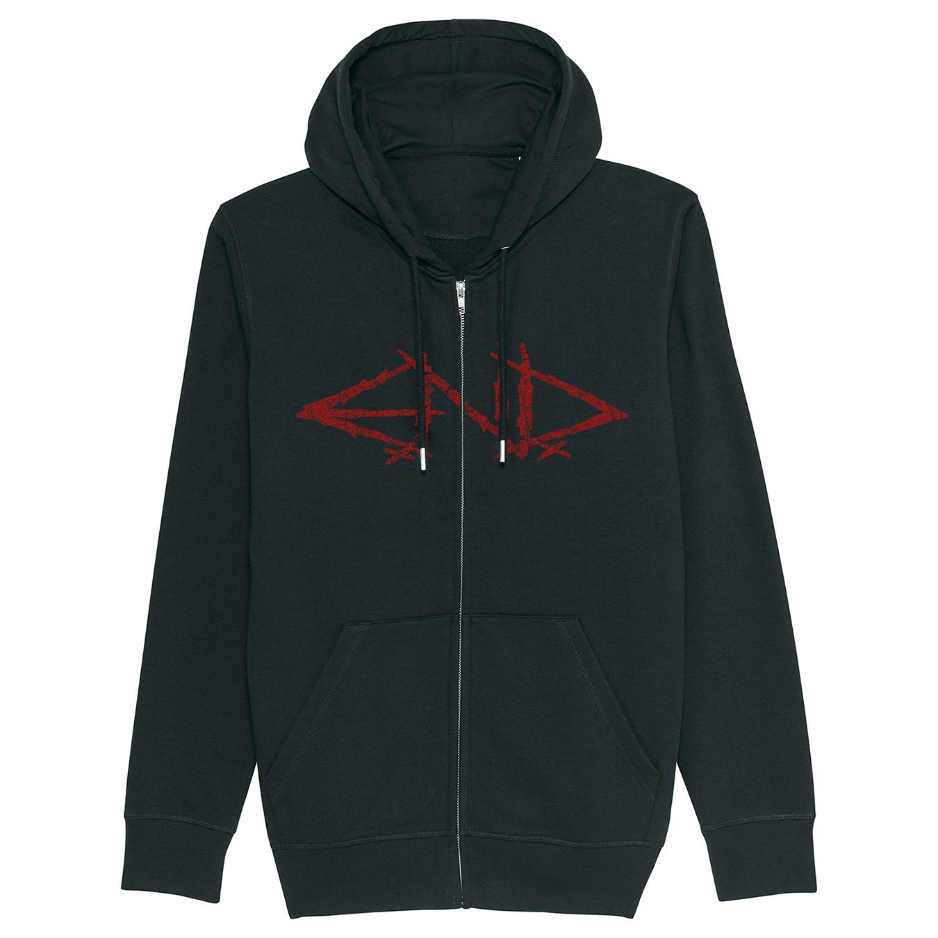 E.N.D. - A Grave Deceit + Big Logo - Zipped Hoodie