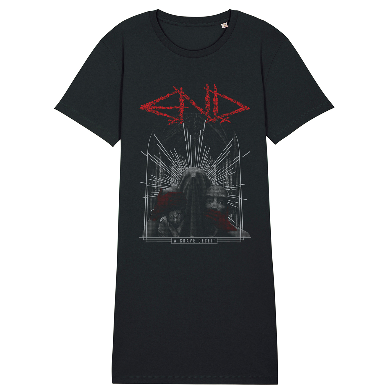 E.N.D. - A Grave Deceit - T-Shirt Dress