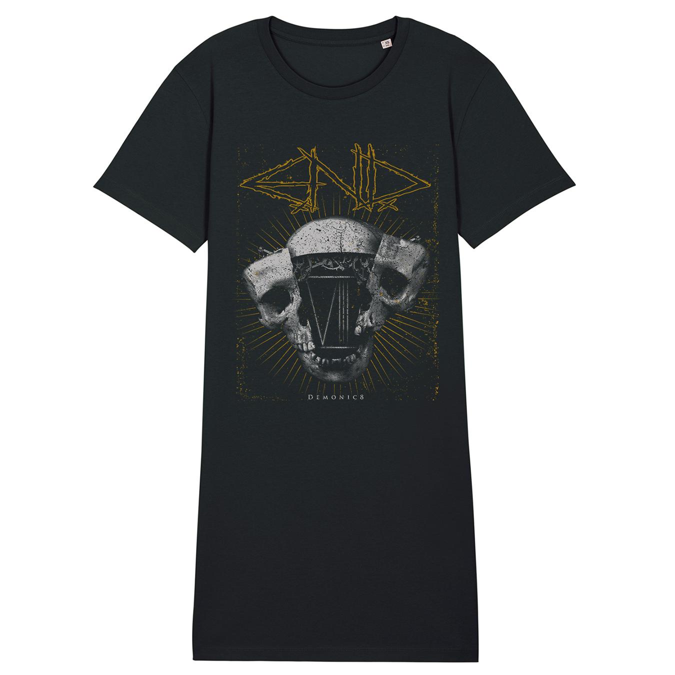 E.N.D. - Demonic8 - T-Shirt Dress