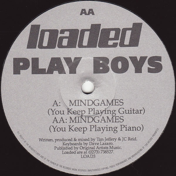 Play Boys ‎– Mindgames (Loaded Records)