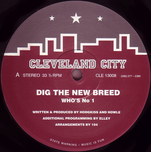 Dig The New Breed – Who's No 1 (Cleveland City)