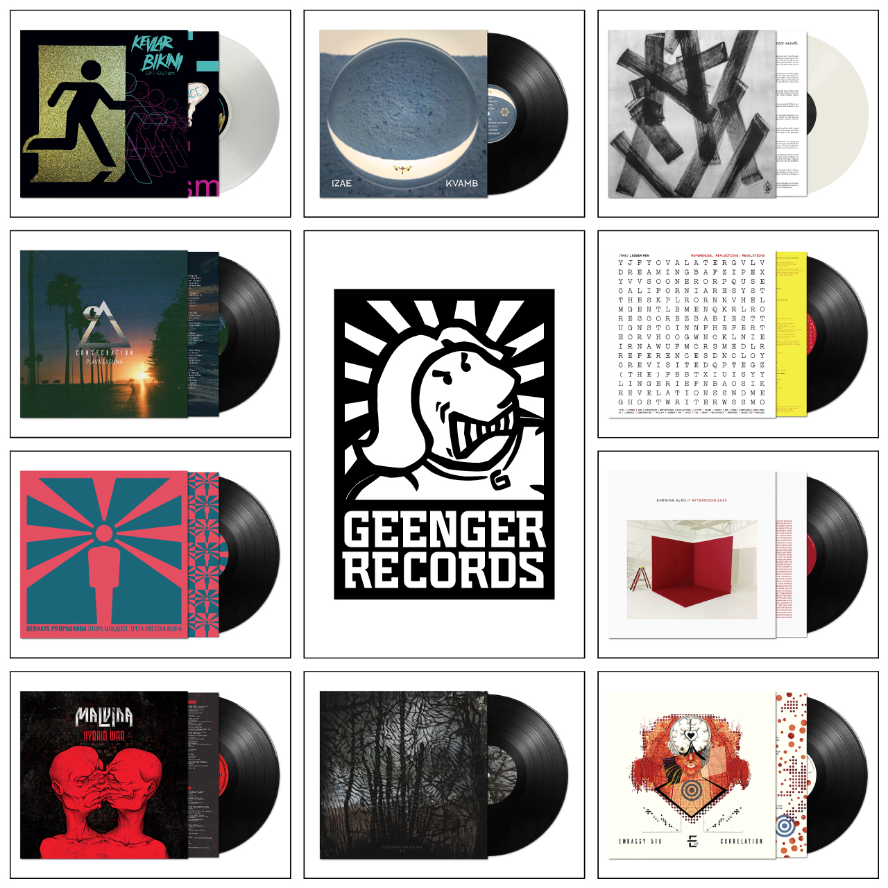 GEENGER RECORDS - LP Collection