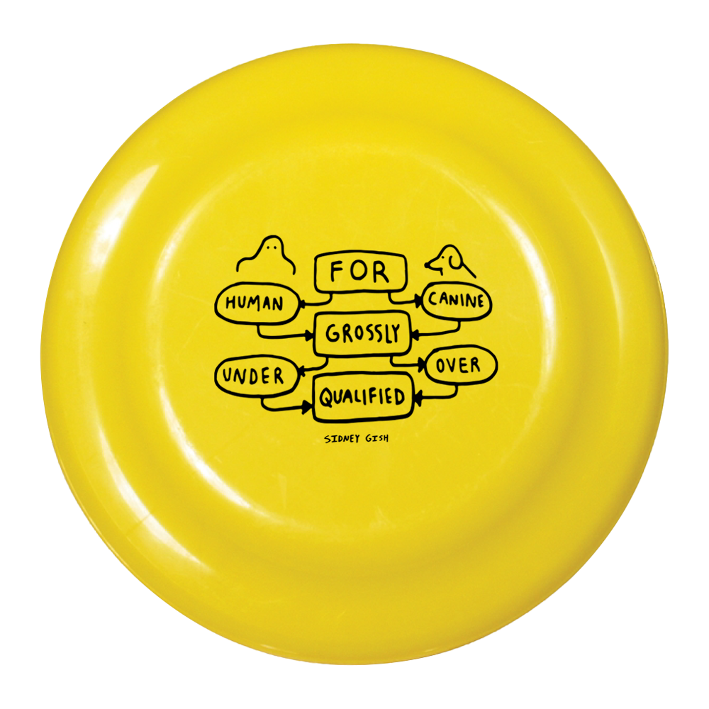 Grossly Qualified Frisbee